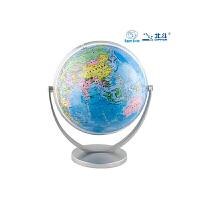 北斗地球仪(20cm政区地球仪-倾角万向旋转银色支架 新课标学生专用)G2020