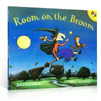 【顺丰速运】聪明豆绘本系列 Room on the Broom 女巫扫帚排排坐 英国作家Julia Donaldson