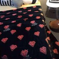 ???毯子双面法兰绒毯双层加厚单双人毛毯床单珊瑚绒秋冬盖毯午睡