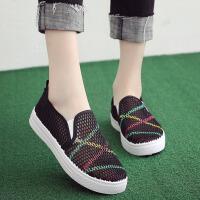 夏季新款老北京布鞋女网鞋透气网眼休闲鞋学生鞋网面小白鞋女