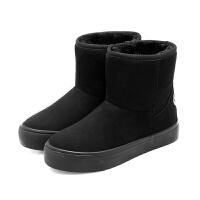 2018冬季新款雪地靴保暖棉鞋短筒雪地棉学生韩版加厚绒短靴冬鞋女软底