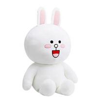 韩国布朗熊公仔可妮兔玩偶毛绒玩具大号布娃娃抱抱熊生日礼物女生 可妮兔