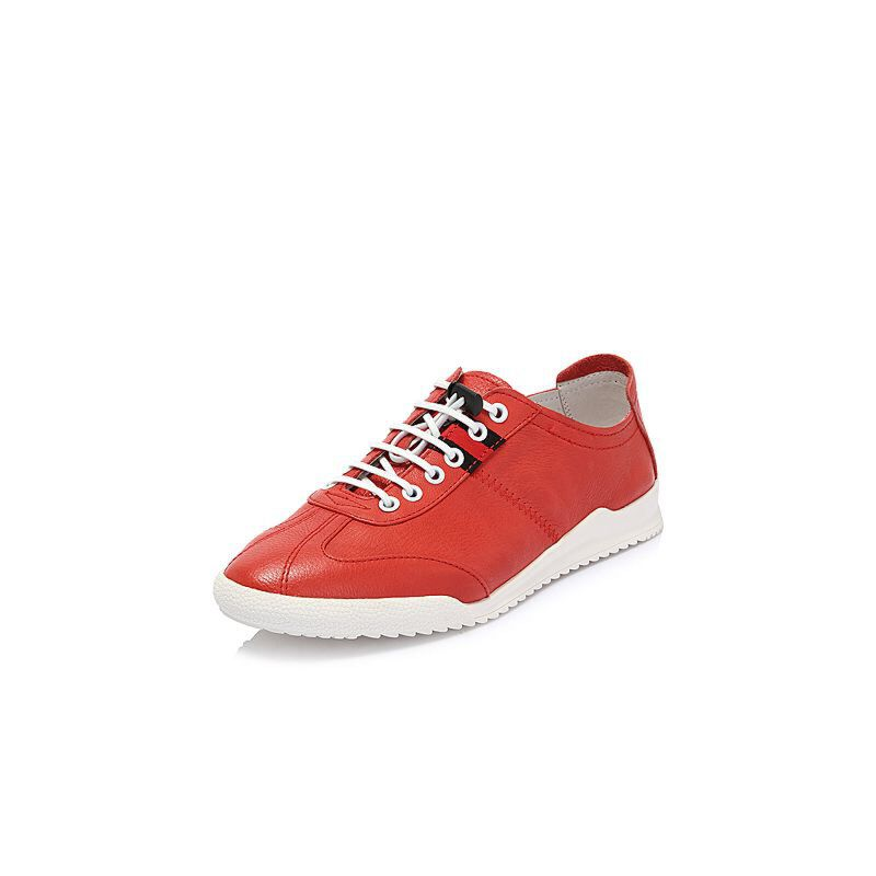 Belle/百丽208夏专柜新款牛皮革男休闲鞋5SQ01BM8