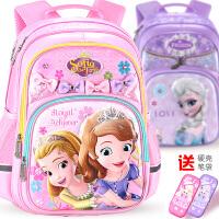 迪士尼小学生书包减负公主轻便小孩6女童1-3-4年级冰雪奇缘儿童