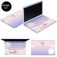 华硕A450V X450V K450C X450C A450C笔记本贴膜电脑外壳膜免裁剪 SC-922 ABC三面