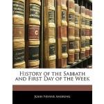【预订】History of the Sabbath and First Day of the Week