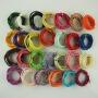 27色可选 纸藤 1米  纸绳 纸艺花材料 手工DIY材料 多色可选 折花纸 皱纹纸 纸玫瑰材料