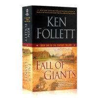 现货巨人的陨落 现货英文原版 Fall Of Giants世纪三部曲系列1 全英文版历史小说 巨人的陨落续篇 爱伦坡奖得