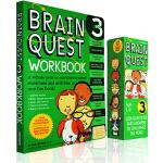 (100减20)大脑任务 Brain Quest Grade 3 三年级 Ages 8-9岁儿童智力问答开发 盒装卡片