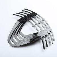 玛莎拉蒂levante改装专用碳纤维轮毂贴片 levante19寸碳纤维轮毂贴片