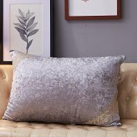 欧式抱枕套靠垫蕾丝靠枕80 70靠背长方形沙发抱枕含芯中大号 长方形