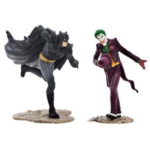 [当当自营]Schleich 思乐 DC超级漫画英雄系列 蝙蝠侠对阵小丑情景包 仿真塑胶模型收藏玩具动漫周边 S22510