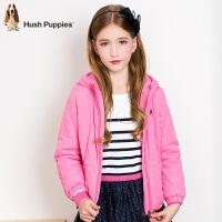 【3件3折:99元】暇步士童装女童棉服冬装新款中大童棉衣儿童时尚连帽上衣