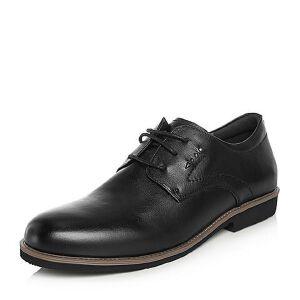 Teenmix/天美意2018春专柜同款牛皮舒适方跟系带鞋男单鞋67G02AM8