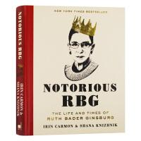 异见时刻 声名狼藉的金斯伯格大法官 英文原版人物传记书 Notorious RBG 她的一生与时代 英文版同名电影原著