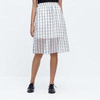 【1件2折到手价:30】MECITY女士裙装提格时尚半身裙