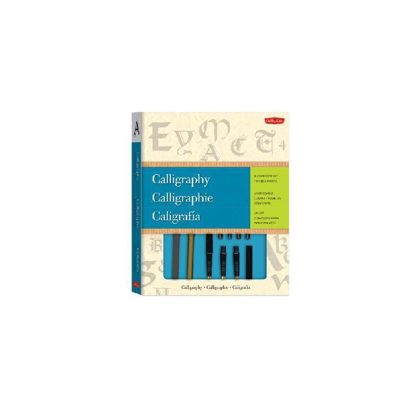 【预订】Calligraphy: A Complete Kit for Beginners [With Calligraphy Pens] 美国库房发货,通常付款后3-5周到货!