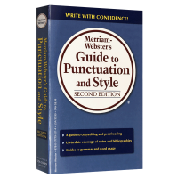 �f氏�它c符�用法�L格指�� 英文原版 Merriam Webster's Guide to Punctuation and