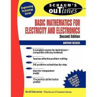 【预订】Schaum's Outline of Basic Mathematics for Electricity a
