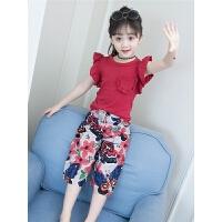 女童夏装新款套装韩版儿童装无袖两件套3洋气4时髦5岁6夏季潮