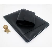 苹果Air笔记本2电脑包Macbook内胆包3.3pro新5寸保护时尚套 黑色(Air 系列)