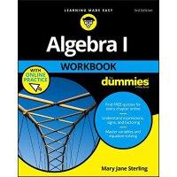 【预订】Algebra I Workbook for Dummies 3E with Online Practice