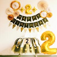 家居生活用品2宝宝周岁生日会场布置装饰派对宴会儿童主题男孩女孩过生日