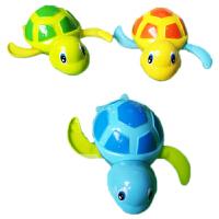 宝宝洗澡玩具会游泳的小乌龟玩具玩水戏水小黄鸭婴儿男孩女孩沐浴
