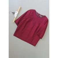 记[T25B-202]专柜品牌正品新款女士打底衫女装雪纺衫0.25KG