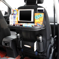 皮革汽车椅背置物袋车载座椅背挂储物袋多功能汽车收纳用品 汽车用品