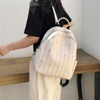 2019韩版时尚双肩包女休闲旅行背包中学生书包上新小包包女包新款