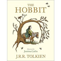 【现货】英文原版 霍比特人 托尔金 J. R. R. Tolkien: The Colour Illustrated