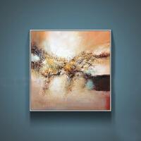 油画 客厅玄关装饰画门厅摆件客厅抽象家居油画方形背景客厅黑色餐厅填色美式框画 250x250 cm