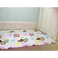 订做超大炕用隔尿垫 竹纤维 棉防水床单床笠2米*3米订做各种尺寸 大号
