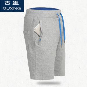 古星夏季新款短裤拉链口袋 运动五分裤男 篮球裤 网球裤