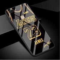 vivox20手机壳男詹姆斯x20plus球衣湖人23号x20plus ud玻璃套球星新款屏幕指纹欧 【vivo x2