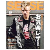 进口年刊杂志订阅 SENSE(センス) 男性时尚杂志 日本日文原版 男装时尚期刊杂志 休闲穿搭 年订12期