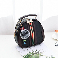 女士包包2018韩版新款女包手提包简约时尚单肩包斜挎包小包百搭潮