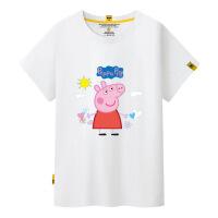 2018新款社会人幼儿园班服园服亲 子装卡通一家三口家庭装短袖T恤爱的抱抱