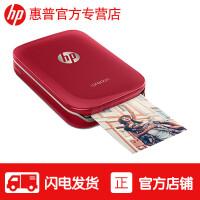 惠普(hp) sprocket100 手机照片打印机家用迷你便携式彩色相片冲印机 替代佳能CP1200 红色