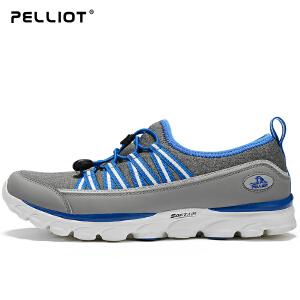 【五一出游特惠】法国PELLIOT户外徒步鞋 男女健步鞋防滑耐磨营地鞋轻便透气登山鞋