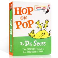 【全场300减100】英文原版绘本 Hop on Pop Dr. Seuss 蹦来跳去 低幼适龄版 廖彩杏书单 苏斯博士