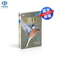 英文原版 英国欧洲鸟类百科大全指南书 RSPB Birds of Britain and Europe 英国皇家鸟类保护