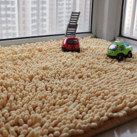 地毯客厅茶几卧室家用床边毯飘窗防滑吸水地垫地毯房间