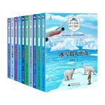 全10册 北极科学探险 位梦华 冰雪北极科学探险典藏书系冰雪猎人传奇 儿童探险书籍故事书 6-12周岁小学生读物 科学