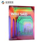 Well Said Intro with online Workbook 初级口语 英文原版进口美国国家地理教材
