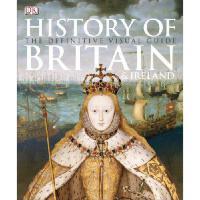 【现货】英文原版 History of Britain and Ireland  DK 英国和爱尔兰图解历史  平装 全彩印刷
