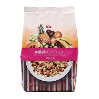 国内现货 瑞典ICA混合水果燕麦片 750g