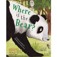 Super Search Adventure Where is the Bear? 英文原版 超级搜索:熊在哪里?儿童
