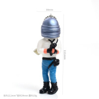 绝地勇士钥匙挂件创意生日蛋糕装饰摆件玩偶吃鸡战士人物模型